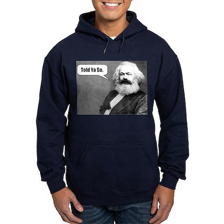 Karl Marx Hoodie (dark)