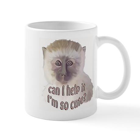 cute vervet monkey Mug