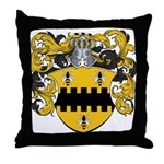 DeJong Family Crest Throw Pillow