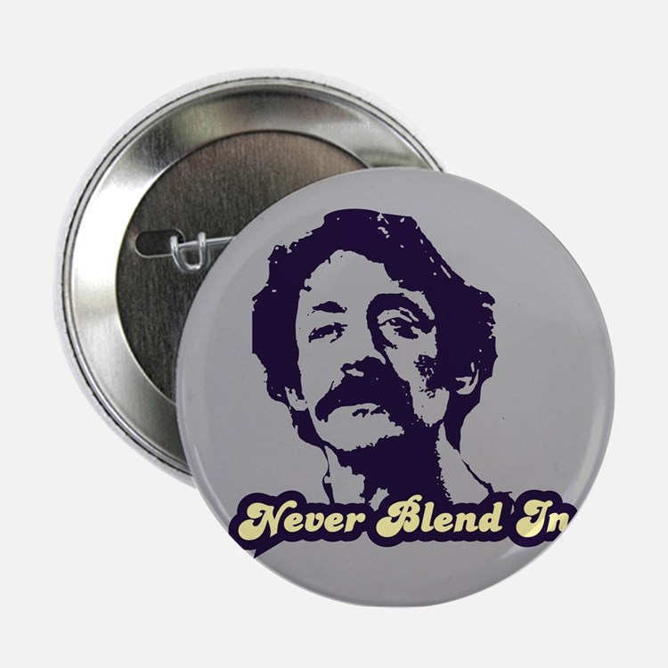 "Harvey Milk:Never Blend In 2.25"" Button"