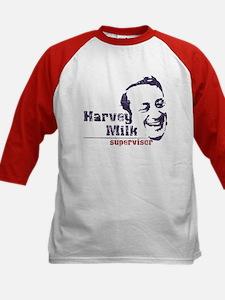 Harvey Milk:Supervisor Kids Baseball Jersey