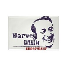 Harvey Milk:Supervisor Rectangle Magnet