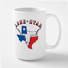 Lone Star Skull Large Mug