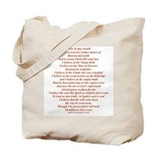 This is my Creed... Tote Bag