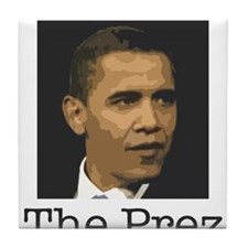 The Prez Tile Coaster