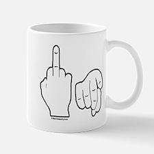 Middle Finger Small Small Mug