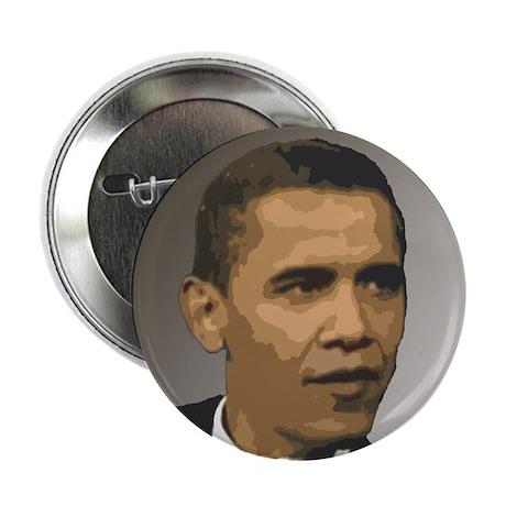 "Barack Obama Stylized Portrai 2.25"" Button"