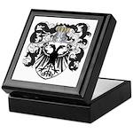 DeLeeuw Family Crest Keepsake Box