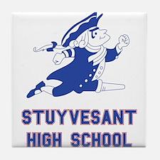 Cute School Tile Coaster