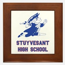 Funny School Framed Tile