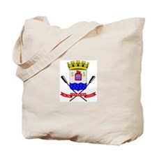 Cute Brazil coat of arms Tote Bag