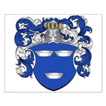 DeMoes Family Crest Small Poster