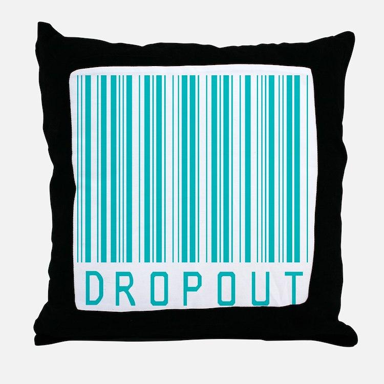 Dropout Throw Pillow