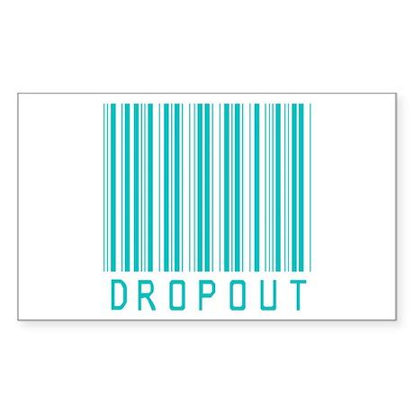 Dropout Rectangle Sticker