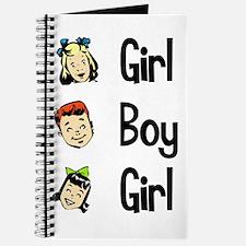 Girl Boy Girl Journal