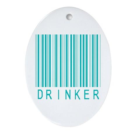 Drinker Oval Ornament