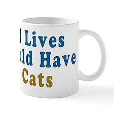 Nine Cats Mug