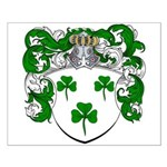 DeRadt Family Crest Small Poster
