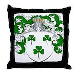 DeRadt Family Crest Throw Pillow