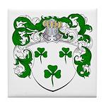 DeRadt Family Crest Tile Coaster