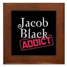 Jacob Black Addict Framed Tile