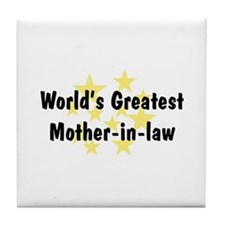 WG Mother-in-law Tile Coaster