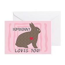 DUMBUNNY-I'M SORRY Greeting Card