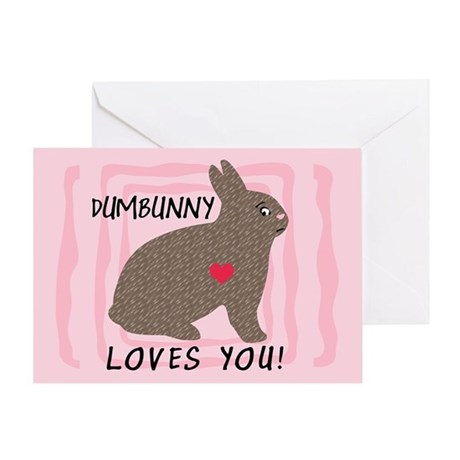 DUMBUNNY-I'M SORRY Greeting Card