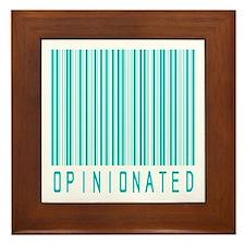 Opinionated Framed Tile