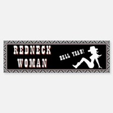 Redneck Woman Bumper Bumper Sticker