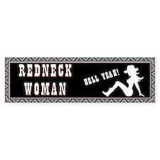 Redneck Woman Bumper Sticker
