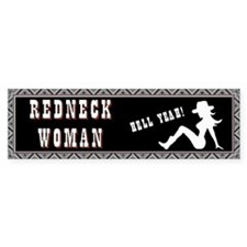 Redneck Woman Car Sticker