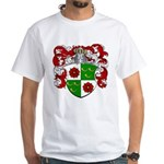 DeRoos Family Crest White T-Shirt