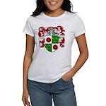 DeRoos Family Crest Women's T-Shirt