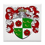 DeRoos Family Crest Tile Coaster