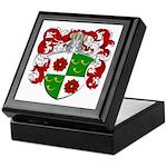 DeRoos Family Crest Keepsake Box