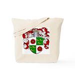 DeRoos Family Crest Tote Bag