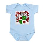 DeRoos Family Crest Infant Creeper