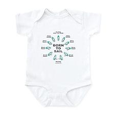 BORN TO SAIL Infant Bodysuit