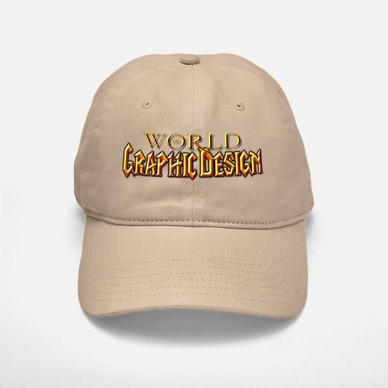 World of Graphic Design Baseball Baseball Cap