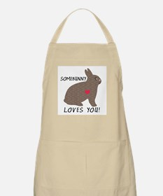 SOMEBUNNY LOVES YOU BBQ Apron