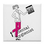 Dental Hygienist Tile Coaster