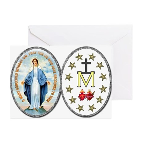 Miraculous Medal Greeting Cards (Pk of 20)