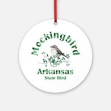 Arkansas Ornament (Round)