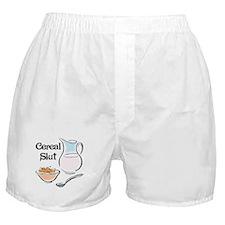 Cereal Slut Boxer Shorts