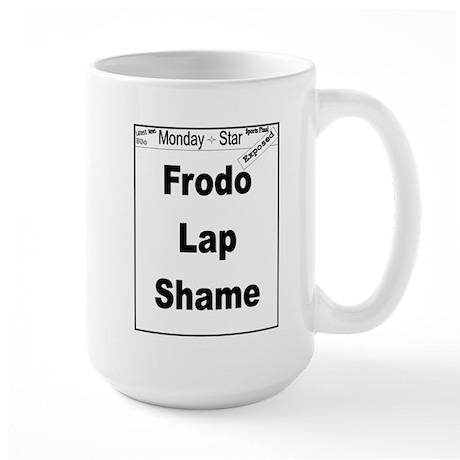 Frodo Lap Shame Large Mug