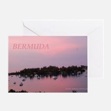 Bermuda Sunrise by Khoncepts Greeting Card