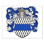 DeThys Family Crest Small Poster