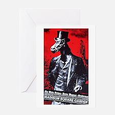 White Stripes @ MSG Greeting Card