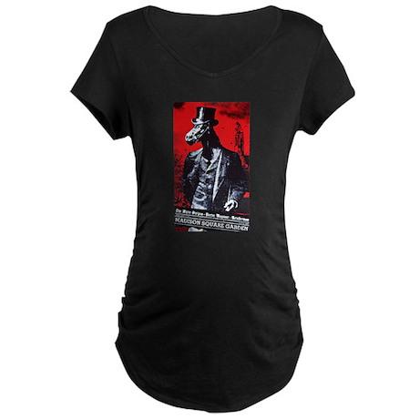 White Stripes @ MSG Maternity Dark T-Shirt